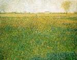 Живопись | Жорж-Пьер Сёра | Люцерна, Сен-Дени, 1885-86
