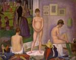 Живопись | Жорж-Пьер Сёра | Натурщицы, 1884-86