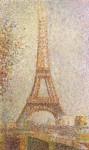 Живопись | Жорж-Пьер Сёра | Эйфелева башня, 1889