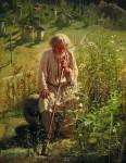 Живопись | Иван Крамской | Пасечник, 1872