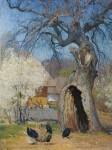 Живопись | Иван Мясоедов | Дуплистое дерево