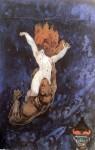 Живопись | Иван Мясоедов | Падение грешницы в ад