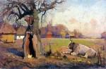 Живопись | Иван Мясоедов | Сельский пейзаж в Полтаве