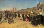 Живопись | Илья Репин | Крестный ход в Курской губернии, 1883
