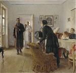 Живопись | Илья Репин | Не ждали, 1888