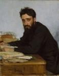 Живопись | Илья Репин | Портрет В. М. Гаршина, 1884