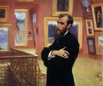 Живопись | Илья Репин | Портрет П. М. Третьякова, 1901