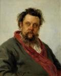 Живопись | Илья Репин | Портрет композитора М. П. Мусоргского, 1881