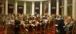 Живопись | Илья Репин | Юбилейное заседание государственного совета, 1903