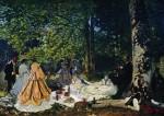 Живопись | Клод Моне | Завтрак на траве, 1865