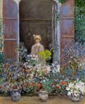 Живопись | Клод Моне | Камилла Моне у окна, 1873