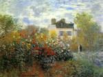 Живопись | Клод Моне | Сад в Аржантее (Георгины), 1873