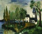 Живопись | Морис де Вламинк | Landscape, 1918