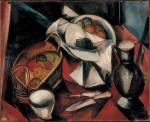 Живопись | Морис де Вламинк | Still Life with Knife, 1910