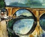 Живопись | Морис де Вламинк | The Aqueduct at Nogent sur Marne, 1911