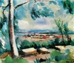 Живопись | Морис де Вламинк | The Village, 1912