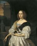 Живопись | Франц ван Мирис Старший | Портрет молодой дамы, 1672