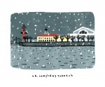 Иллюстрация | Софья Коловская | One Day - One Sketch | 25 октября