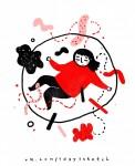 Иллюстрация | Софья Коловская | One Day - One Sketch | 9 января