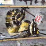 Стрит-арт | Джим Вижн | Спасите пчёл