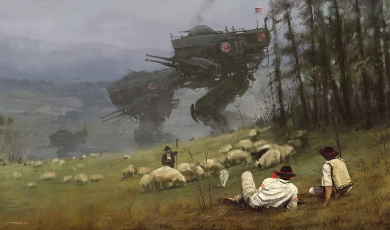 Якуб Розальски. Футуристическое прошлое