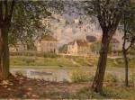 Живопись | Альфред Сислей | Городок Вильнёв-ла-Гаренн, 1872