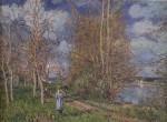 Живопись | Альфред Сислей | Лужайки весной, 1881