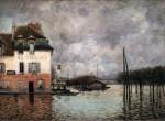 Живопись | Альфред Сислей | Наводнение в Пор-Марли, 1876