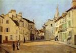 Живопись | Альфред Сислей | Площадь в Аржантее, 1872