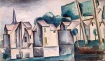 Живопись | Андре Дерен | Дома у воды, 1910