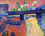 Живопись | Андре Дерен | Мост Чаринг Кросс, Лондон, 1906
