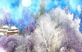 Бай Хаоран. Китайская зима