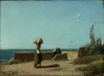 Живопись | Винченцо Кабьянка | Набережная, 1860