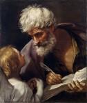 Живопись | Гвидо Рени | Святой Матфей и ангел, около 1620