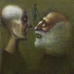 Живопись | Гиви Сипрошвили | Доктор и пациент, 2005