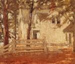 Живопись   Грант Вуд   Бабушкин дом в лесу, 1926
