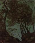 Живопись   Грант Вуд   Вид Неаполитанского залива, 1925