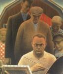 Живопись | Грант Вуд | Возвращение из Богемии, 1935