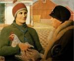 Живопись | Грант Вуд | Оценка, 1931