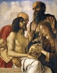 Живопись | Джованни Беллини | Оплакивание Христа с Иосифом Аримафейским, Никодимом и Марией Магдалиной, 1471-74