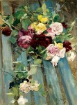 Живопись   Джованни Болдини   Натюрморт с розой