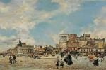 Живопись   Джованни Болдини   Площадь Клиши, 1874
