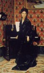 Живопись   Джованни Болдини   Портрет Мари Домеган, 1869