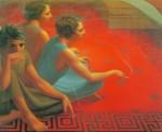 Живопись | Джордж Тукер | Красный ковер, 1953