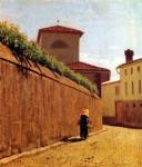 Живопись | Джузеппе Аббати | Улица в свете солнца,  1863-64.jpg_02