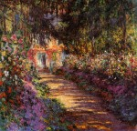 Живопись | Клод Моне | Тропинка В Саду Моне, Живерни, 1901-02