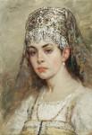 Живопись | Константин Маковский | Боярышня, 1880