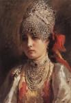 Живопись | Константин Маковский | Боярышня, 1884