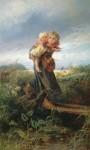 Живопись | Константин Маковский | Дети, бегущие от грозы, 1872