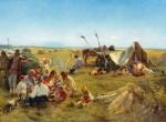 Живопись | Константин Маковский | Крестьянский обед во время жатвы, 1871